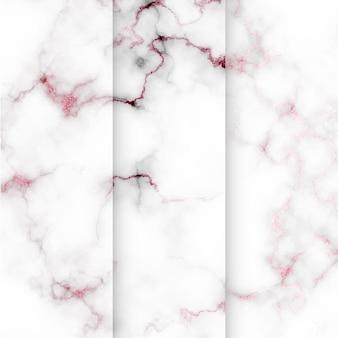 Kolekcja cyfrowego papieru z wzorem płytek marmurowych