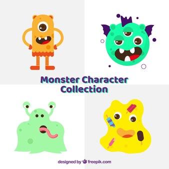 Kolekcja czterech potworów