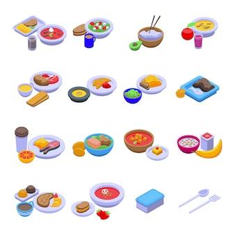 Kolekcja dań obiadowych