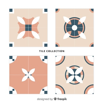 Kolekcja dekoracyjnych płytek