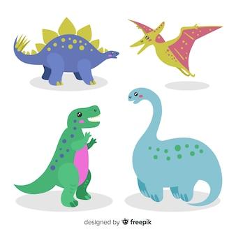 Kolekcja dinozaurów