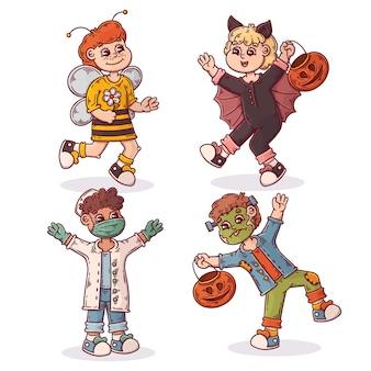 Kolekcja dziecięca halloween