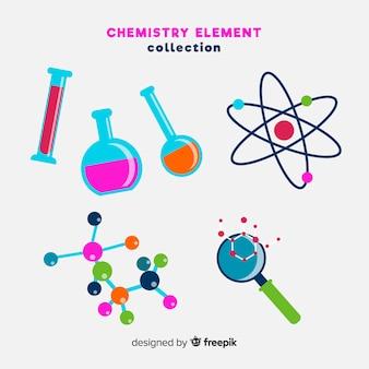 Kolekcja elementów chemii