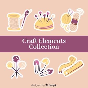 Kolekcja elementów craft