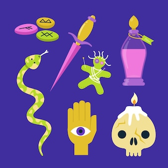Kolekcja elementów ezoterycznych