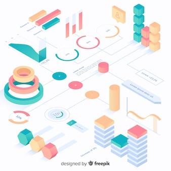 Kolekcja elementów infografiki
