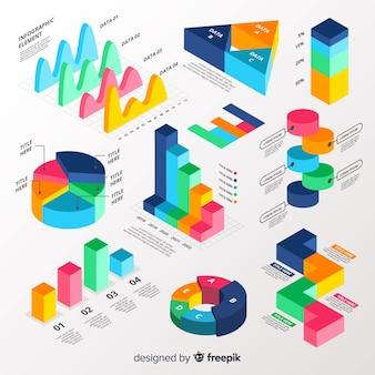 Kolekcja elementów infographic