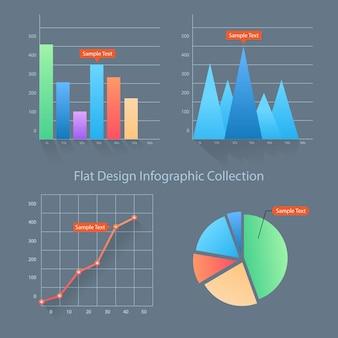 Kolekcja elementów inforgraphic
