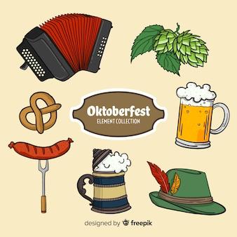 Kolekcja elementów oktoberfest