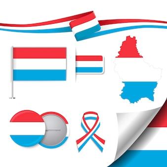 Kolekcja elementów przedstawicielskich luksemburga