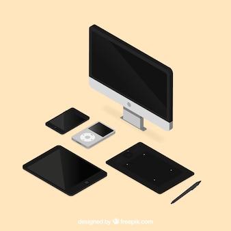 Kolekcja elementów technologicznych
