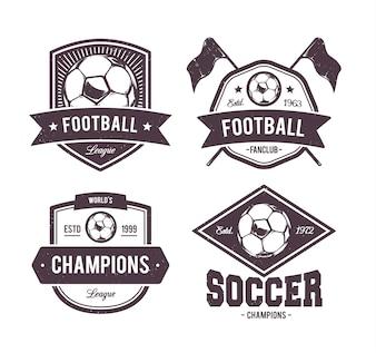 Kolekcja emblematów piłkarskich