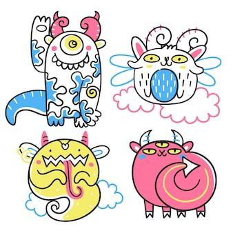 Kolekcja fantastycznych potworów