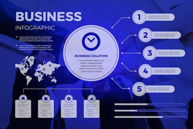 Kolekcja firmy infographic