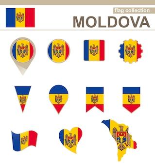 Kolekcja flag mołdawii, 12 wersji