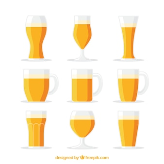 Kolekcja flat beer glass & mug