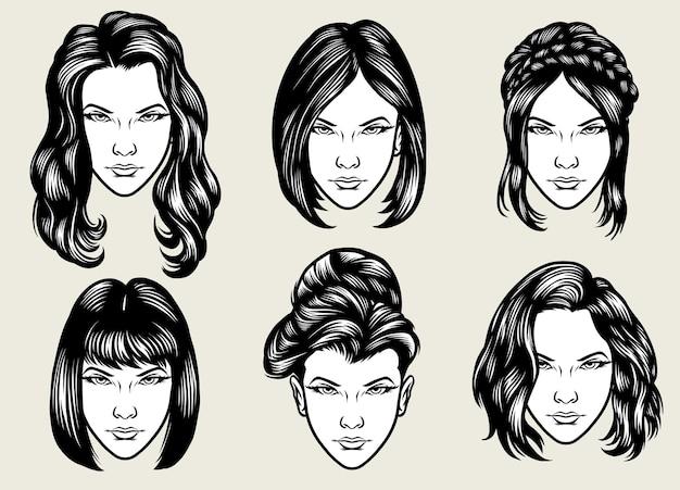 Kolekcja fryzur dla kobiet