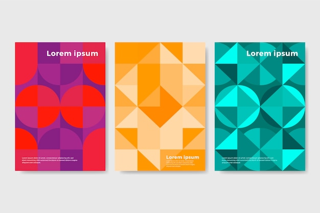 Kolekcja geometryczna okładka streszczenie
