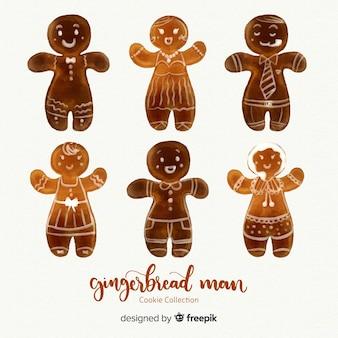 Kolekcja gingerbread man