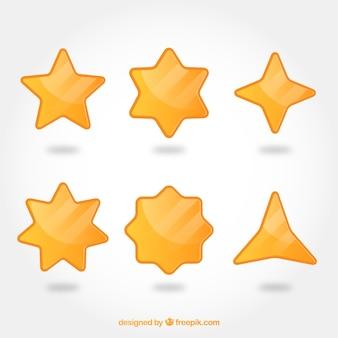 Kolekcja gwiazd płaskich