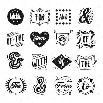 Kolekcja haseł i znaków handlowych