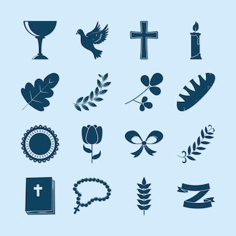 Kolekcja ikon chrztu