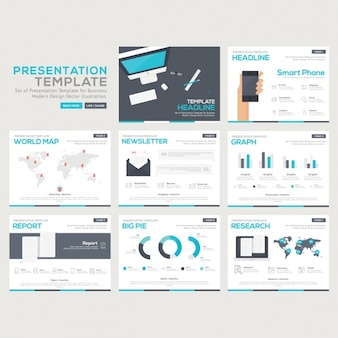 Kolekcja infographic szablony