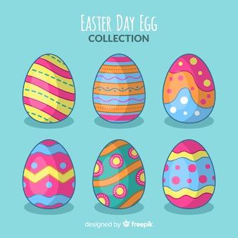 Kolekcja jaj wielkanocnych