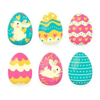Kolekcja jajek wielkanocnych
