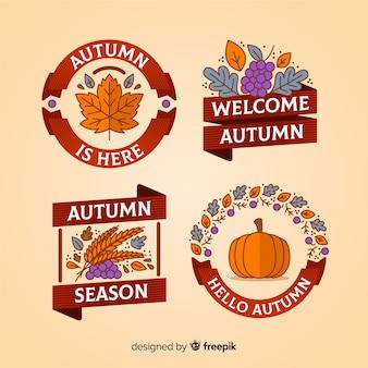 Kolekcja jesień odznaka