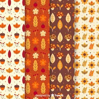 Kolekcja jesień wzór stylu