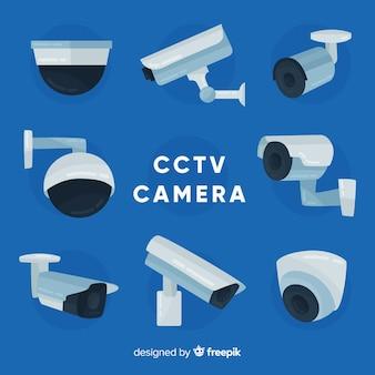 Kolekcja kamer cctv o płaskiej konstrukcji