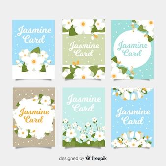 Kolekcja kart jasmine