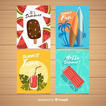 Kolekcja kart letnich