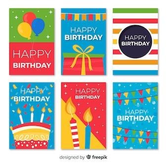 Kolekcja kart urodzinowych