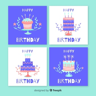 Kolekcja kart z okazji urodzin