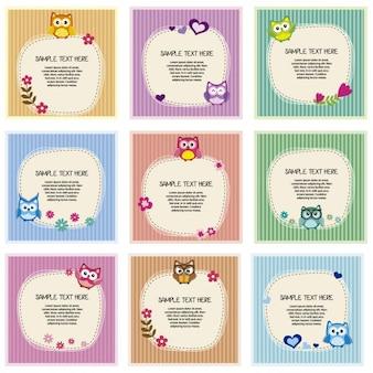 Kolekcja kart z sowy na całym świecie