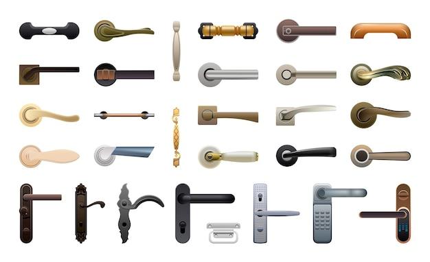 Kolekcja klamek do drzwi