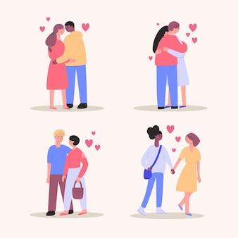 Kolekcja kochających się par