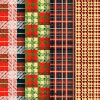 Kolekcja kolorowych bawolich wzorów