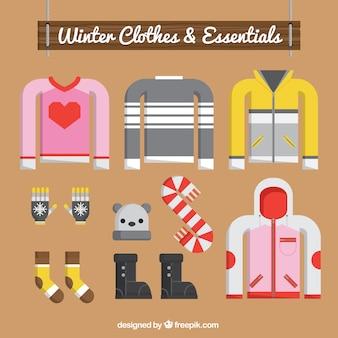 Kolekcja koszulek i elementów zimowych