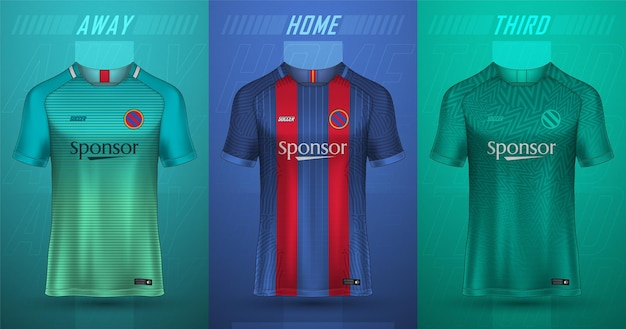 Kolekcja koszulek piłkarskich premium