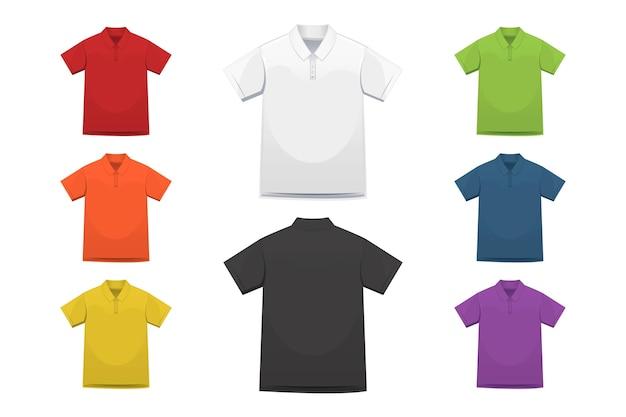 Kolekcja koszulek polo