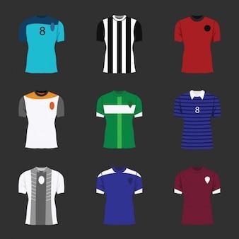 Kolekcja koszulki piłkarskie