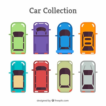 Kolekcja kreatywnych samochodów