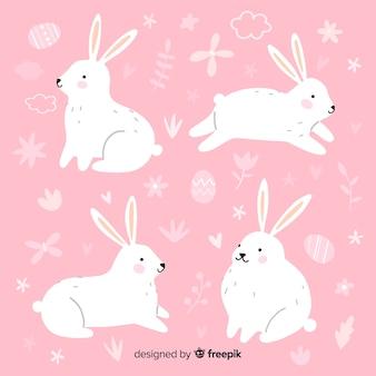Kolekcja króliczek wielkanocny