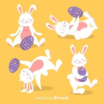 Kolekcja króliczków wielkanocnych