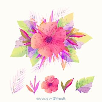 Kolekcja kwiatowa oddziału