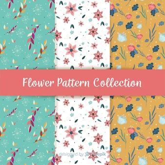 Kolekcja kwiatowy wzór