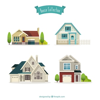 Kolekcja ładne domy